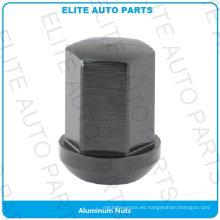 Tuerca de aluminio para rueda