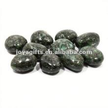 High Polished Gemstone black pebble stone