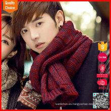 Forme la bufanda customzied al por mayor del mantón del suéter