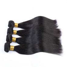 2016 Alibaba Lieferant 100% unverarbeitete Haarverlängerung menschlichen brasilianischen Haar spinnt zum Verkauf