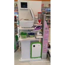 Merchandising Madera Plegable Home Appliance Display Shelves Para Tiendas, Estantes Lcd Cocina Display
