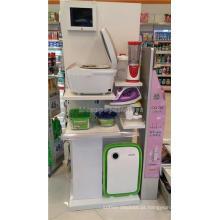 Merchandising Prateleiras de exibição de dispositivos domésticos para armazéns domésticos para lojas, prateleiras de exibição de cozinha Lcd