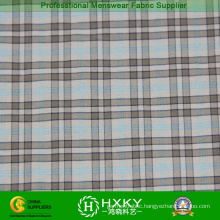 Plaid Pattern with Nylon Yarn Dyed Fabric in Men′s Shirt