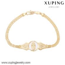 74594-Xuping New Gold 18k Bracelet Jewelry Design para niñas