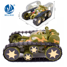 Nouveau produit High Qulity Space Rover RC Deformation Tank Car Toy