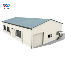 prefabricated workshop square beam Construction Building Materials airport steel structure hangar