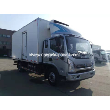 Euro 4 refrigerated truck /frezeer box truck