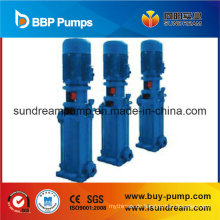 Hygienische vertikale vertikale mehrstufige Hochdruckzentrifugalwasserpumpe