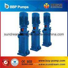 Bomba de agua centrífuga gradual multietapa vertical de alta presión sanitaria