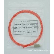 0,9 LC Mm Fibre Optique Pigtail