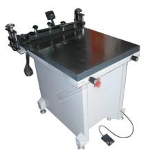 TM-6080 manuelle Glas flach Siebdruckmaschine