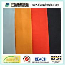 Tecido de sarja de ambos os lados de seda e algodão