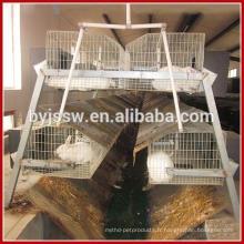 Cages industrielles d'OEM de qualité pour des lapins à vendre pas cher