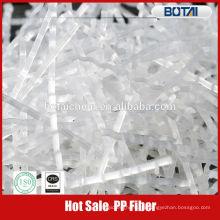 Fibra de polipropileno monofilamento PP venta caliente para hormigón