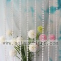 Iridescent Clear AB String Beads Rotolo Garland 82M / Roll