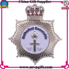 Pin personalizado del metal para el uso de la insignia de la policía