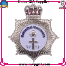 2016 Metal Police Badge with Various Colors Available