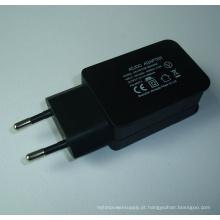 Carregador USB para Smartphone 5V1a2a