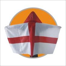 Bandera de cuerpo de capa impresa personalizada de Chuangdong promotiona