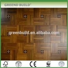 Productos de piso de parquet de madera de teca