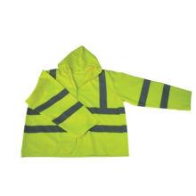 100% Polyester High Visibility Long Sleeve Reflective Safety Vest