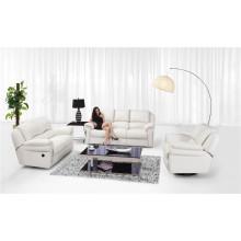 Sofá de cuero genuino de la sala de estar (811)