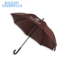 """23 """"Parceiros de Negócios Brindes Promocionais Item Car Marca Borracha Lidar Com Umbrella Automático À Prova D 'Água Guarda-chuva Logotipo Personalizado"""
