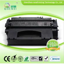 Совместимый картридж с тонером для картриджей с черным тонером 53X для HP Q7553X