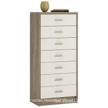 Cofres de cômoda de gaveta de 7 cômodos de alto brilho sem esforço (HC26)