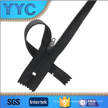 3# Nylon Closed End Zipper with Iron up and Bottom Stopper