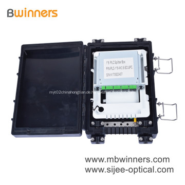 24-adriges Glasfaserkabel-Anschlussgehäuse aus ABS-Material
