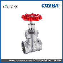 Válvula de compuerta de latón / acero inoxidable de alta calidad