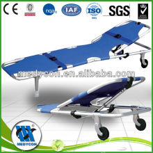 aluminum alloy folding stretcher(two parts)
