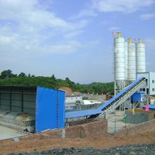 Бетонный завод серии HZS 120м3 / ч стационарного типа