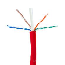 China buen precio cable de la red de UTP de Cat6 UTP