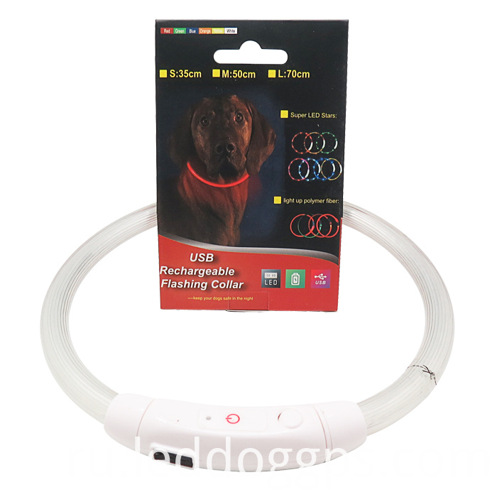 LED Night Flashing Dog Collar