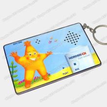 Schlüsselanhänger, Schlüsselanhänger, Digital Keychain, Musik Keychains