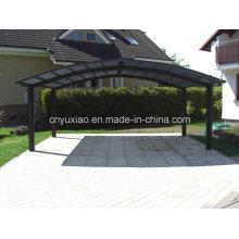 Carport de toit solide et stable avec cadre all-Alminum et polycarbonate solide