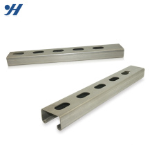 Slotted Galvanized Stainless Steel Unistrut Cold Rolled Steel Metal Channel
