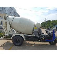 Camión mezclador de hormigón triciclo ampliamente utilizado