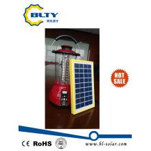 USB solar portátil da lanterna e soquetes de SD / MMC / Ms
