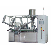 LTRG-120 Automatic Double Head Tube Filling and Sealing Machine for toothpaste glue plastic tube aluminum tube