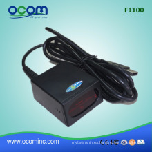 China 1D máquina de escáner de código de barras de montaje fijo láser