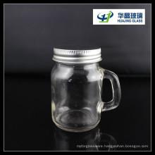 Hot Sale Hj175 120ml Jam Glass Jar with Handle