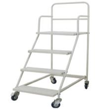 Venta caliente alta calidad aluminio plataforma material mano carro plataforma plataforma camión/no-ruidoso mano carro de mano
