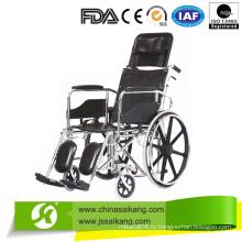Стальная ручная инвалидная коляска для инвалидов с конкурентоспособной ценой