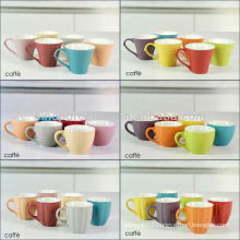 12 colors option espresso stoneware coffee cup for BS12015