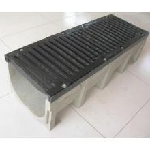 Canal de drainage de couverture de grille en fonte
