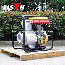 BISON Chine Taizhou Pompe à gaz diesel industrielle à haute pression de 6 pouces
