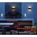 Motion Sensor aluminum waterproof led wall light